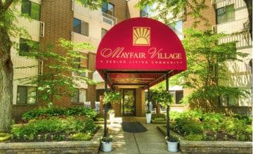 Mayfair Village Retirement Center Exterior
