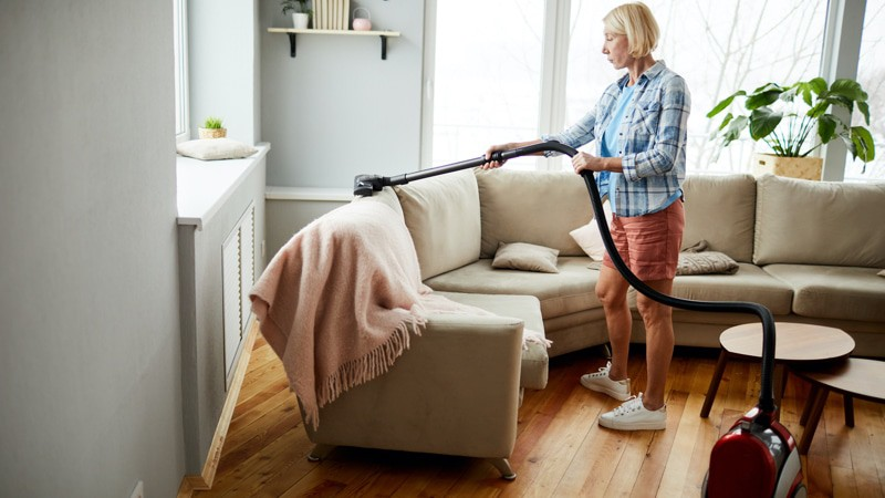 Downsizing and decluttering as a senior