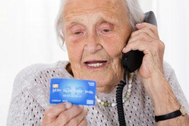 Senior Woman Phone Scam