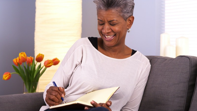 Senior Journaling Health Benefits