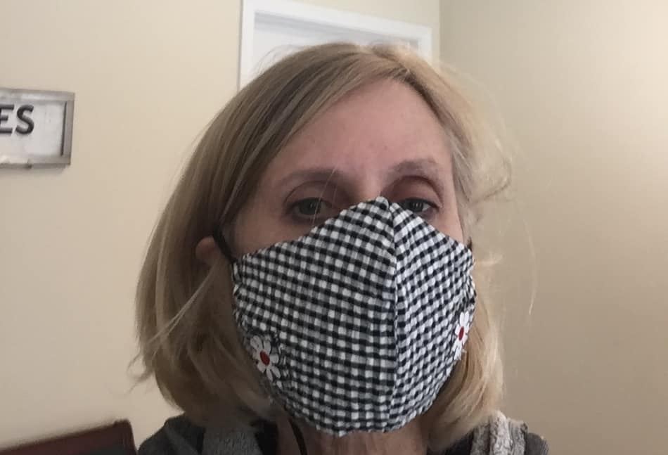 Face mask made for patients and nurses