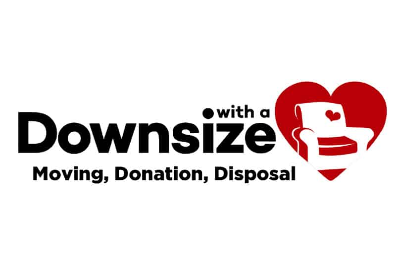 Downsize With A Heart Logo
