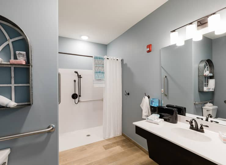 Grand Brook Memory Care of Greenwood Bathroom