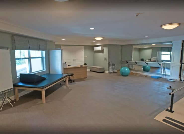 Hellenic Senior Living Therapy Gym