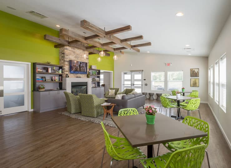 Redbud Commons Activity Room