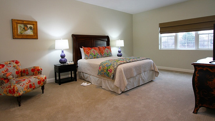 Sycamore Reserve Resident Bedroom