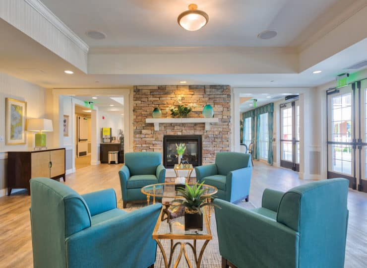 Three Creeks Senior Living Common Room