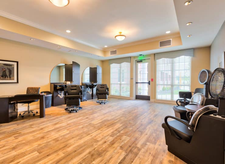 Three Creeks Senior Living Salon