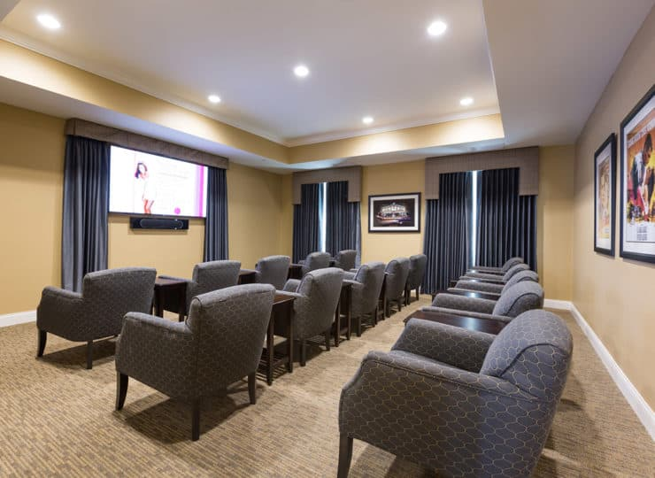 Three Creeks Senior Living Theater