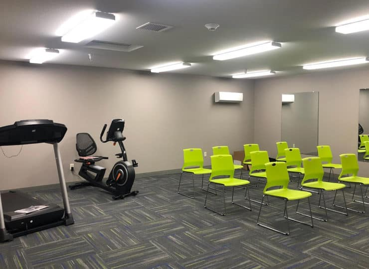 Timber Creek Village Exercise Room