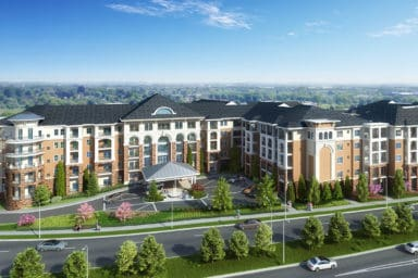 Cambridge Village at Brier Creek Rendering