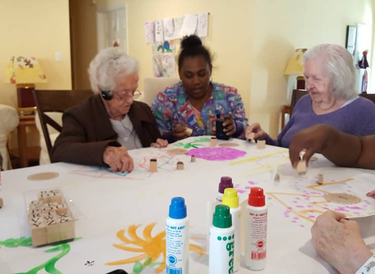 Autumns Way Care Home Crafts