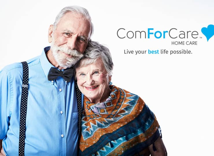 ComForCare Happy Senior Couple