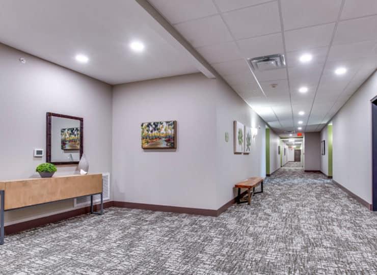 Encore Apartments hallway