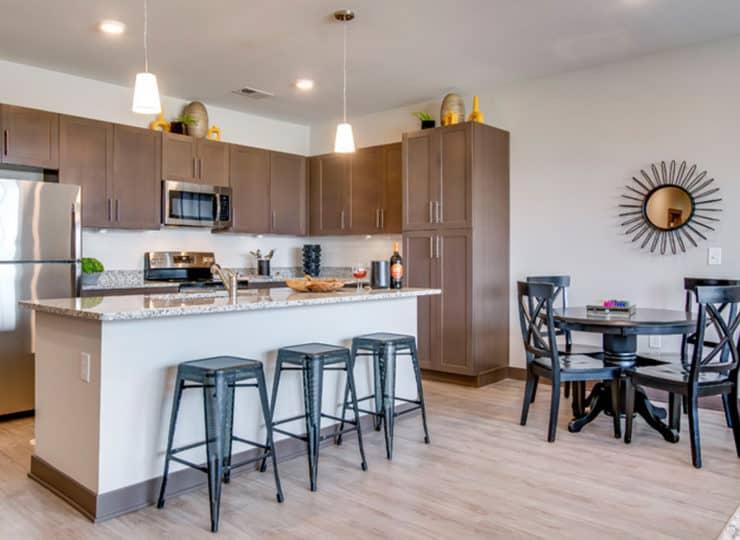 Encore Apartment kitchen