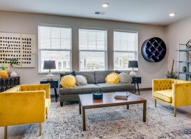 Encore Apartment living room