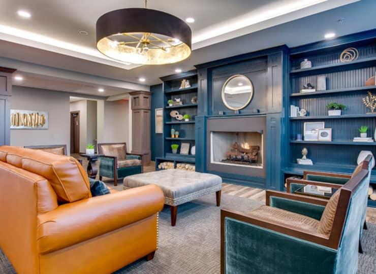 Encore Apartments lobby