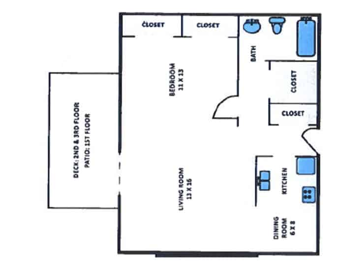 Serenity Manor Bedroom Floorplans