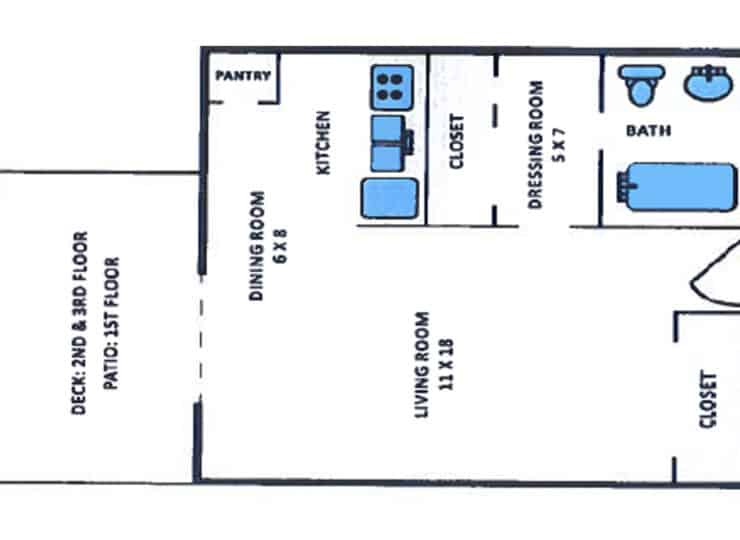 Serenity Manor Studio Floorplans