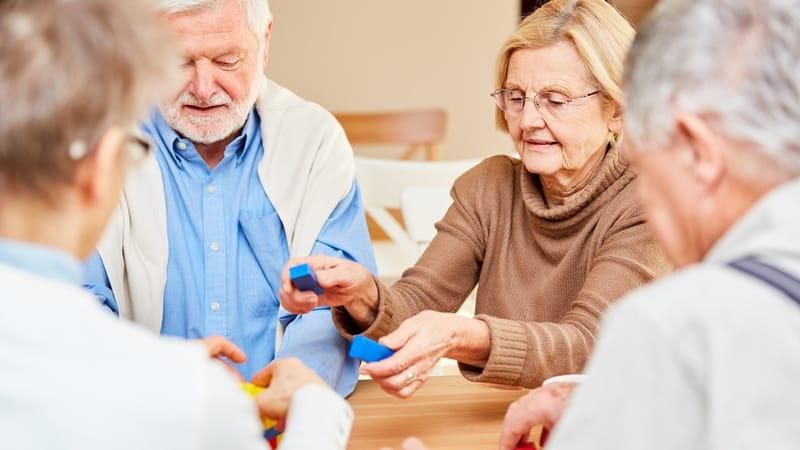 Seniors enjoying their Adult Day Services