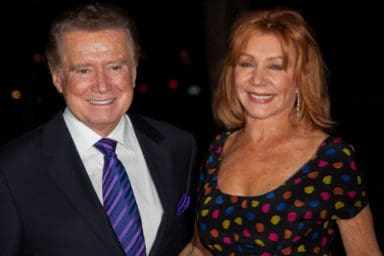 Regis Philbin and his wife Joy
