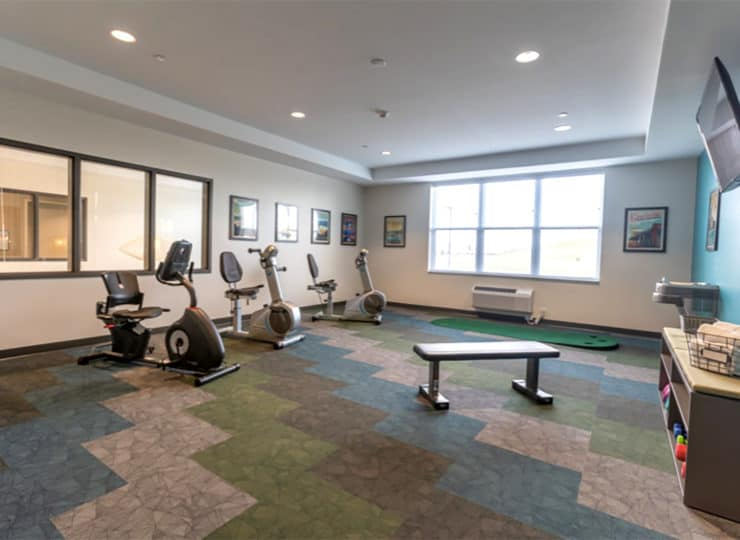 Glasswater Creek of Plainfield Workout Room