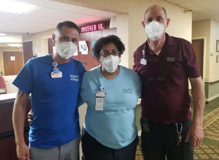 Mayfair Village Nursing Care Staff Members
