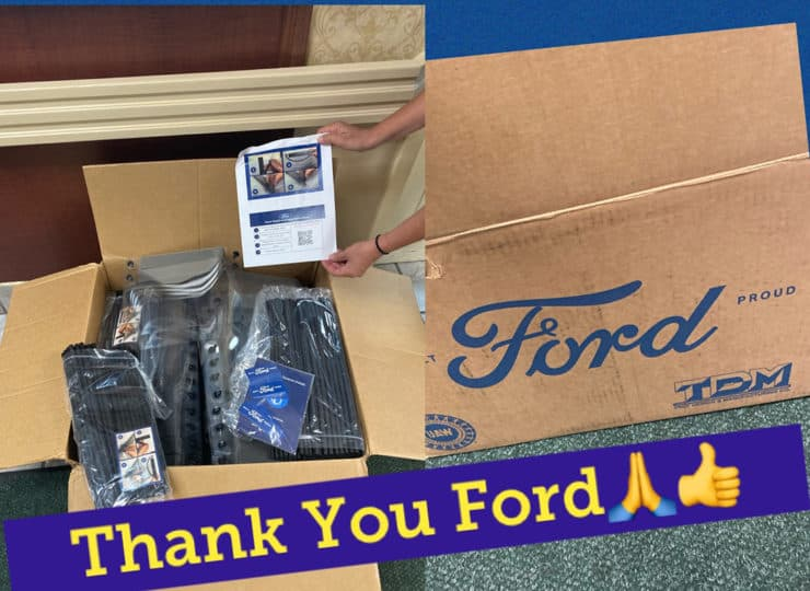 Mayfair Village Nursing Care Thank You From Ford Auto