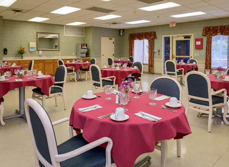 Mayfair Village Nursing Center Dining Room