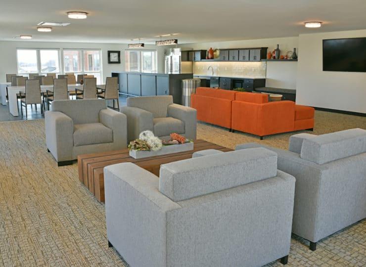 Rose Senior Living Carmel Lounge