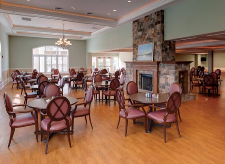 Friendship Assisted Living Dining Room