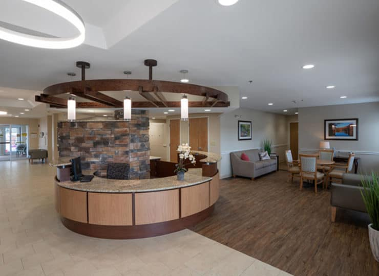 Friendship Assisted Living Lobby