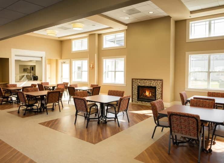 Friendship Health Rehab South Dining Room