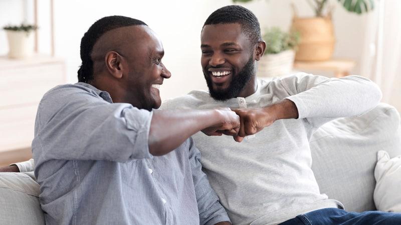 Millennials like to fist bump