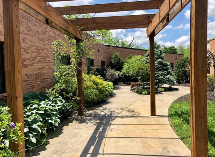 Alois Alzheimers Courtyard