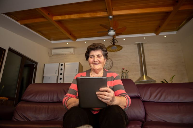 Residents at assisted living stay social with online games