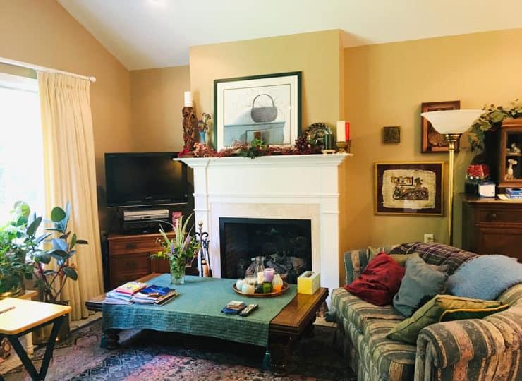 Friends Care Community Fireplace