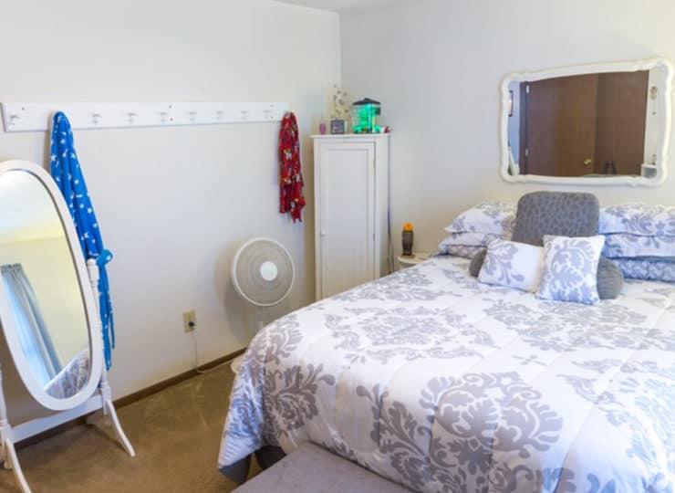 Northtowne Senior Living Bedroom