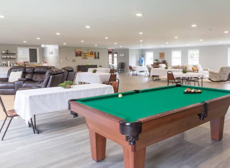 Northtowne Senior Living Billiards