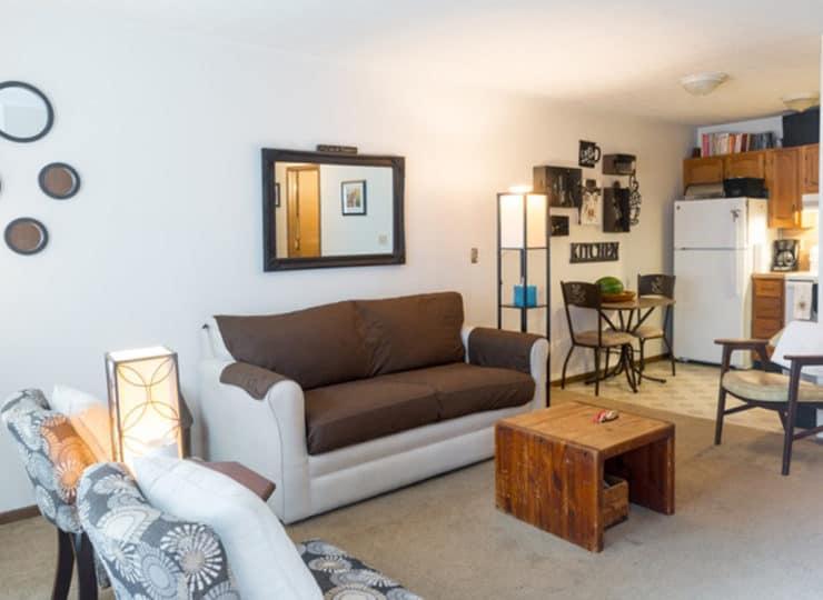 Northtowne Senior Living Living Room