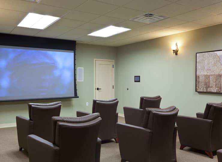 The Oaks At Whitaker Glen Movie Theater