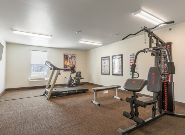 Lakeview Senior Apartment Exercise Room