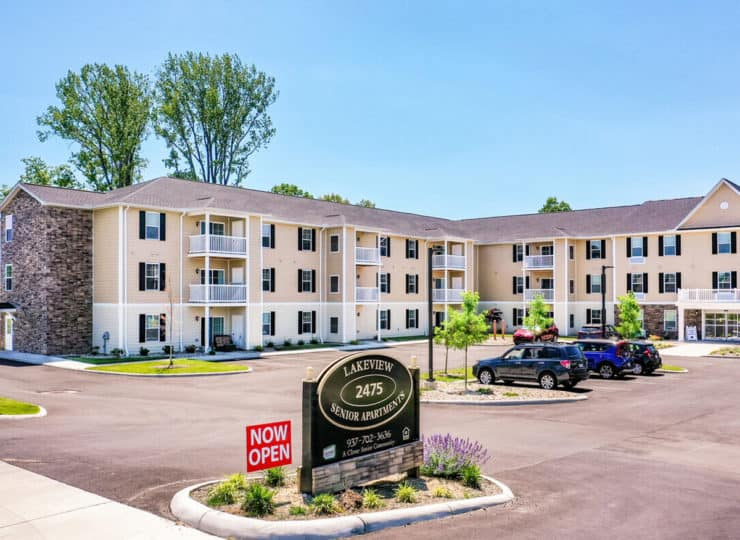 Lakeview Senior Apartment Now Open Building