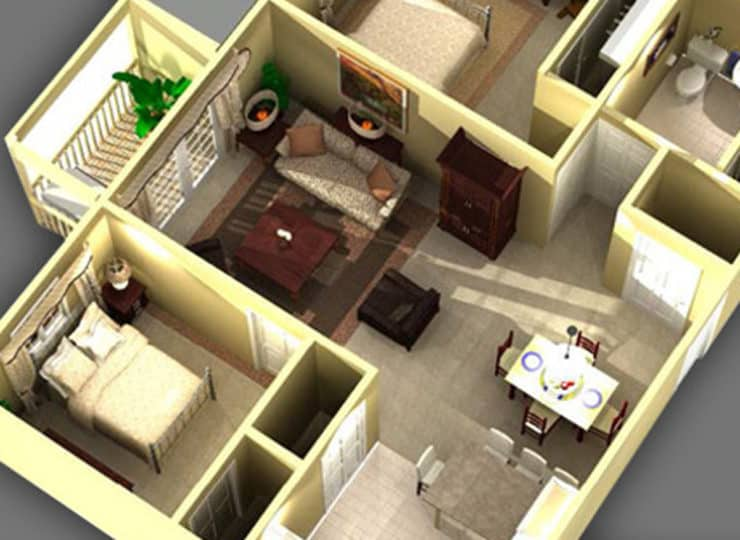 Llakeview Senior Apartment Layout