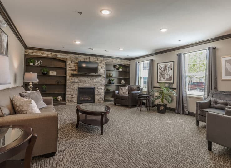 Lakeview Senior Apartment Lobby