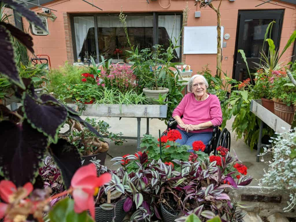 Resident at Friends Care Community