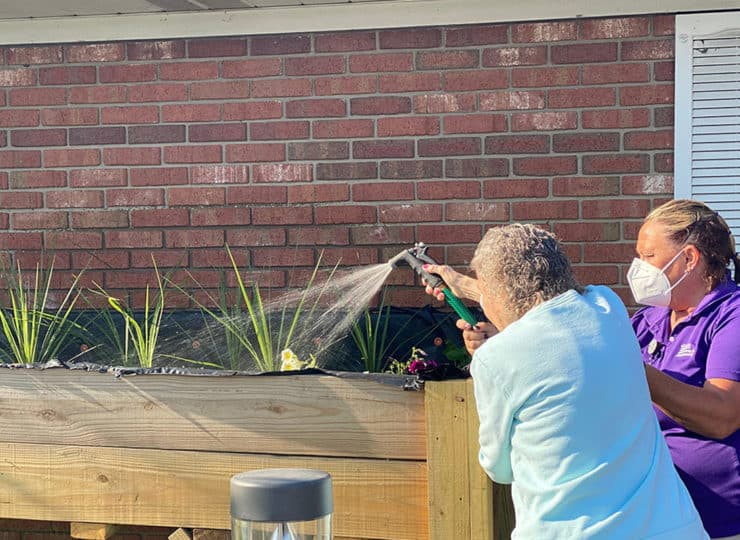 American Senior Communities Gardening