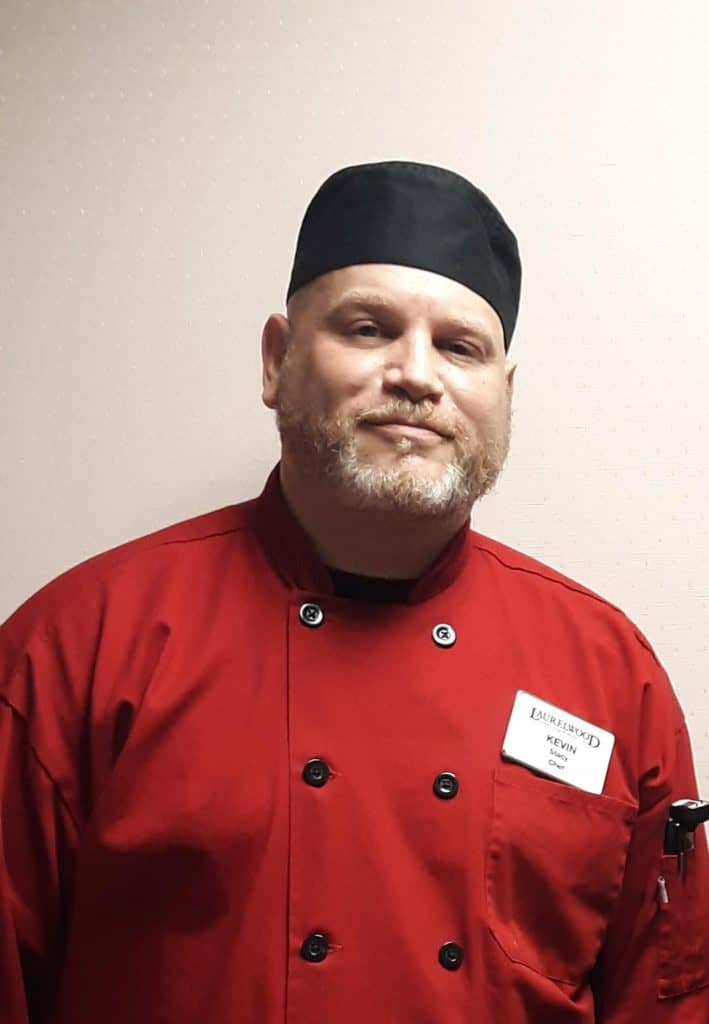 Chef Kevin Stacy of Laurelwood Senior Living