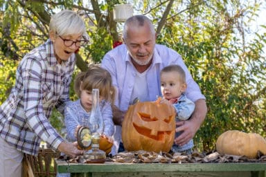 Some fun Halloween activities with grandkids