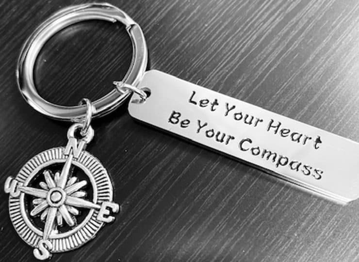 Compass Home Care Key Ring